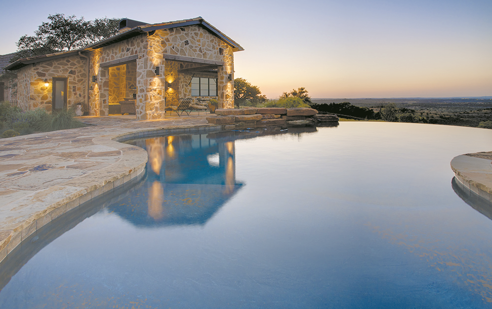 Luxury living in austin hill country homes belvedere for Texas hill country houses for sale