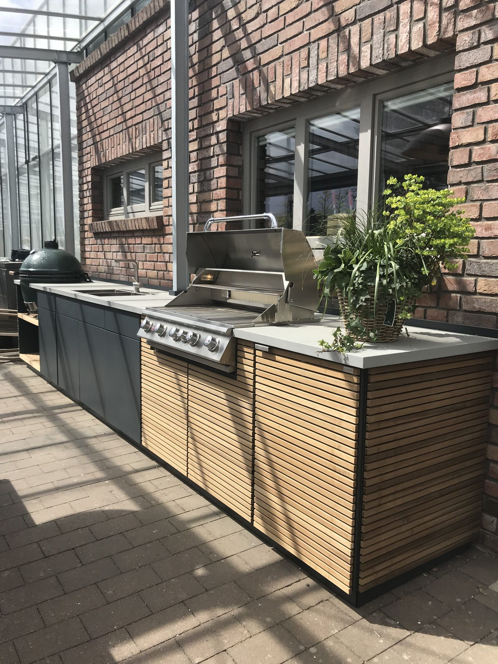 Outdoor Küche Mit Big Green Egg Big Egg Green Mit Outdoorkuche Big Green Egg Outdoor Kitchen Outdoor Kitchen Design Big Green Egg