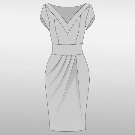 Lilly Kleid Ebook Größe 3252 [Digital]  Kleider, Salsa kleid und Schnittmuster
