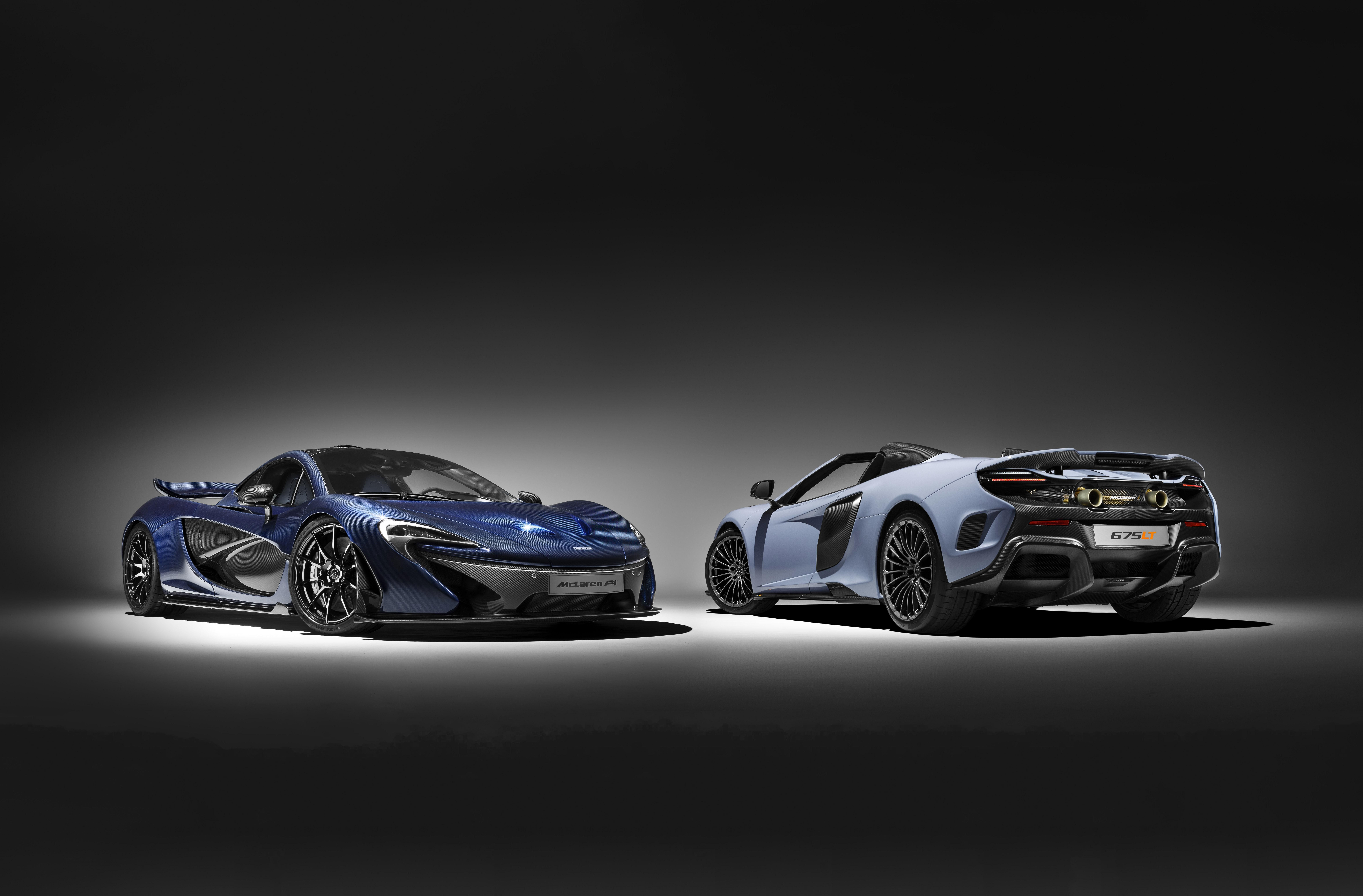 British Luxury Automaker McLaren Has Just Unveiled Two Cars That Will Debut  At The Geneva Motor
