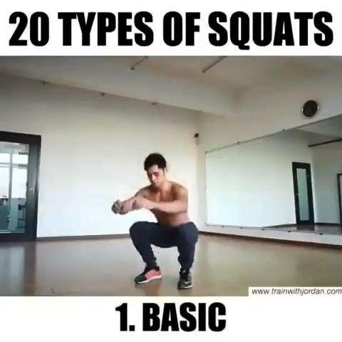 minutes avant de dormir : quelques exercices faciles pour amincir vos jambes SquatsSquats  The Air