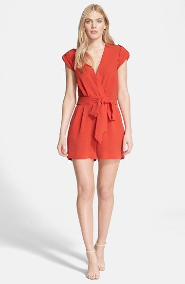 90ba2dbc789 Obsessed with cut of this romper. Longer shorts