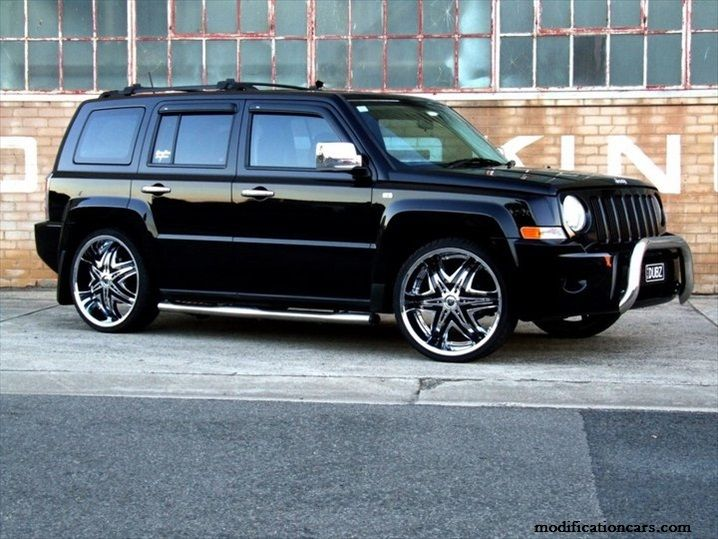 modified jeep patriot chrome wheels modification of cars. Black Bedroom Furniture Sets. Home Design Ideas