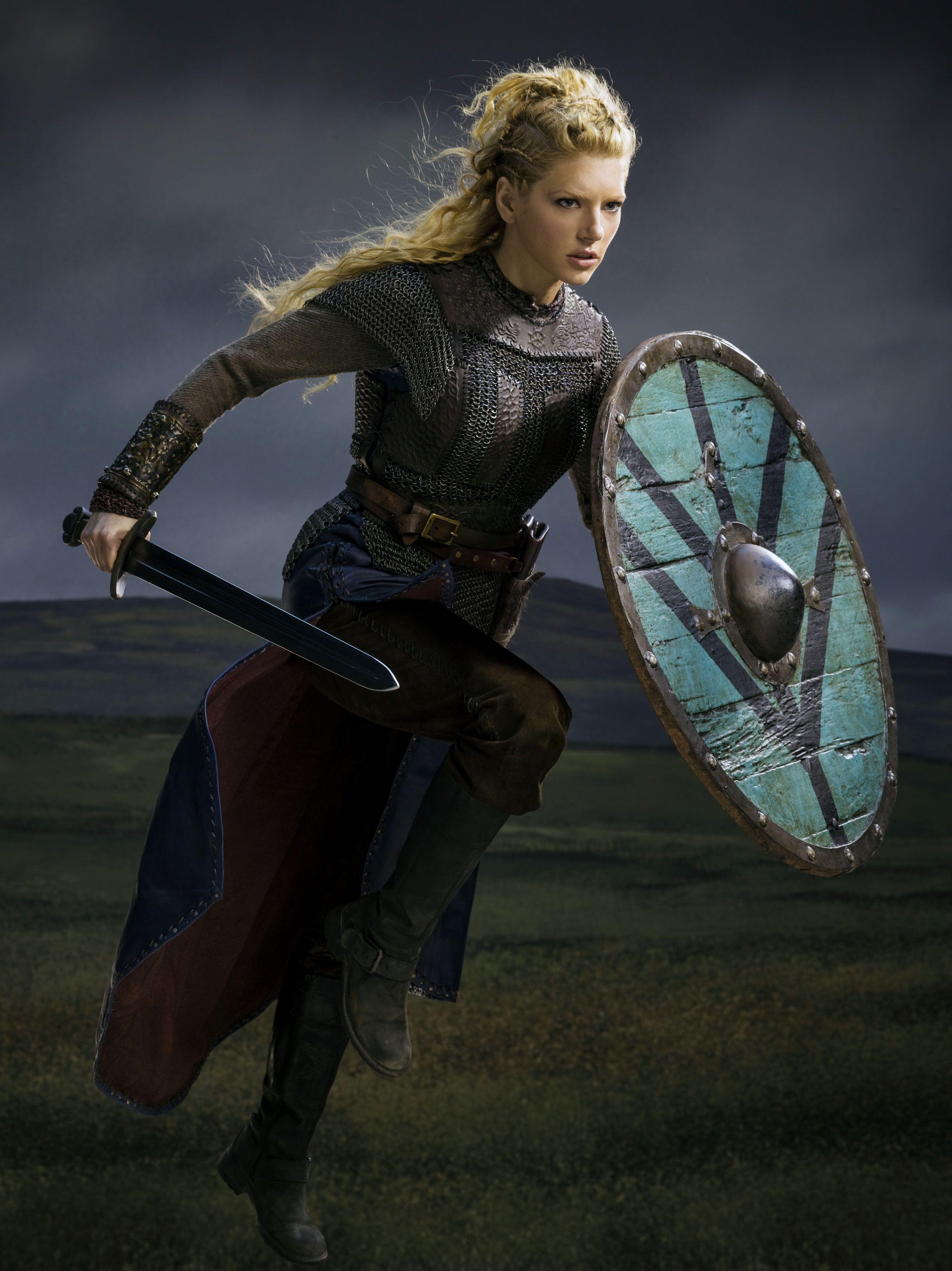 Katheryn Winnick as Lagertha - Vikings Promotional Photograph ...
