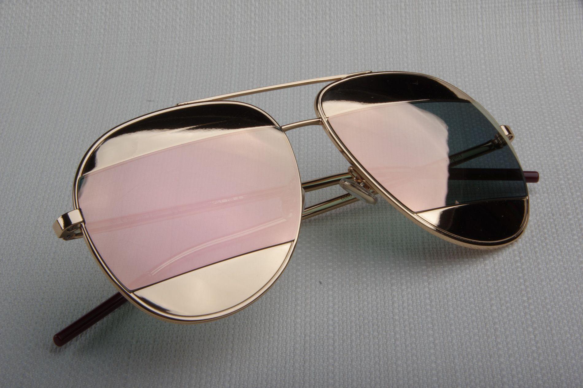 932e5844e0fbe6 La lunette DIOR SPLIT est la dernière création lunetière de la Maison DIOR.  Même si