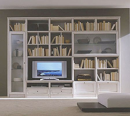 Bibliotecas modernas deco biblioteca mueble muebles for Muebles bibliotecas para living