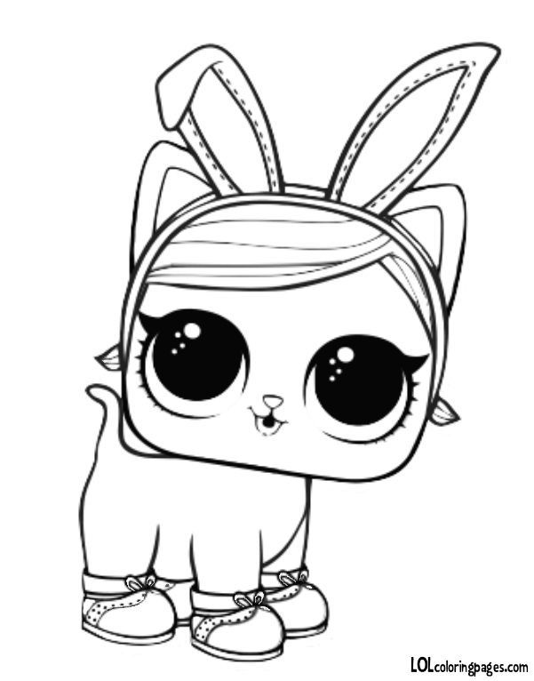 Pet - Hops Kit-tea Coloring Page | Cool coloring pages ...