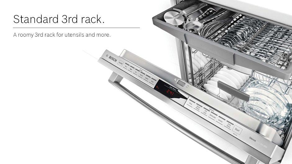 Bosch Dishwasher Standard Third Rack Steel Tub Tub Dishwasher