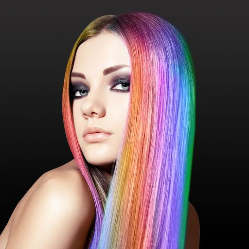 Hair Color Changer Styles Salon Recolor Booth Ask Sene - Photo hairstyle changer download