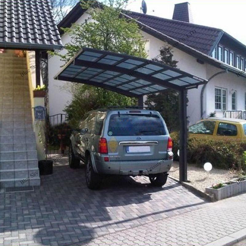 Sturdy aluminum driveway gate canopy carports buy for Carport gate ideas