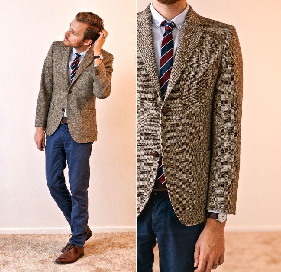 Finally, a reason to buy blue dress pants. Really like