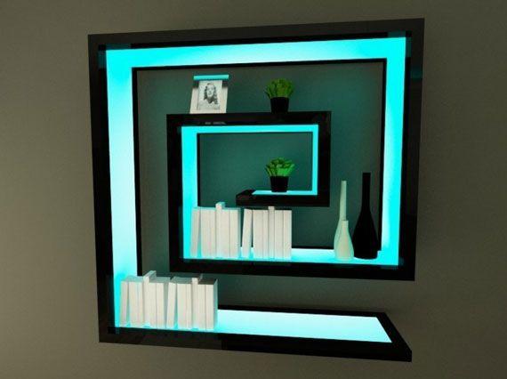 Black Maze Labyrinth Wall Shelf | for.my.home | Pinterest | Shelves ...