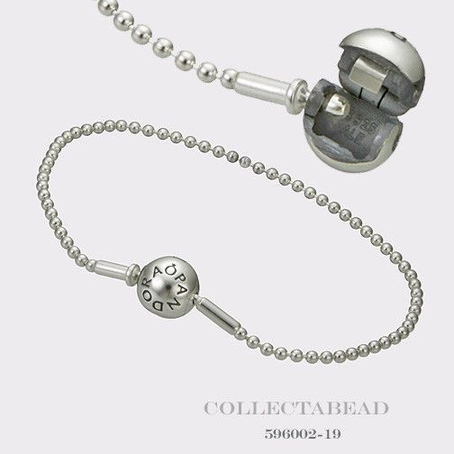 06ae99d9d Authentic Pandora Essence Collection Beaded Silver Clasp Bracelet 8.3