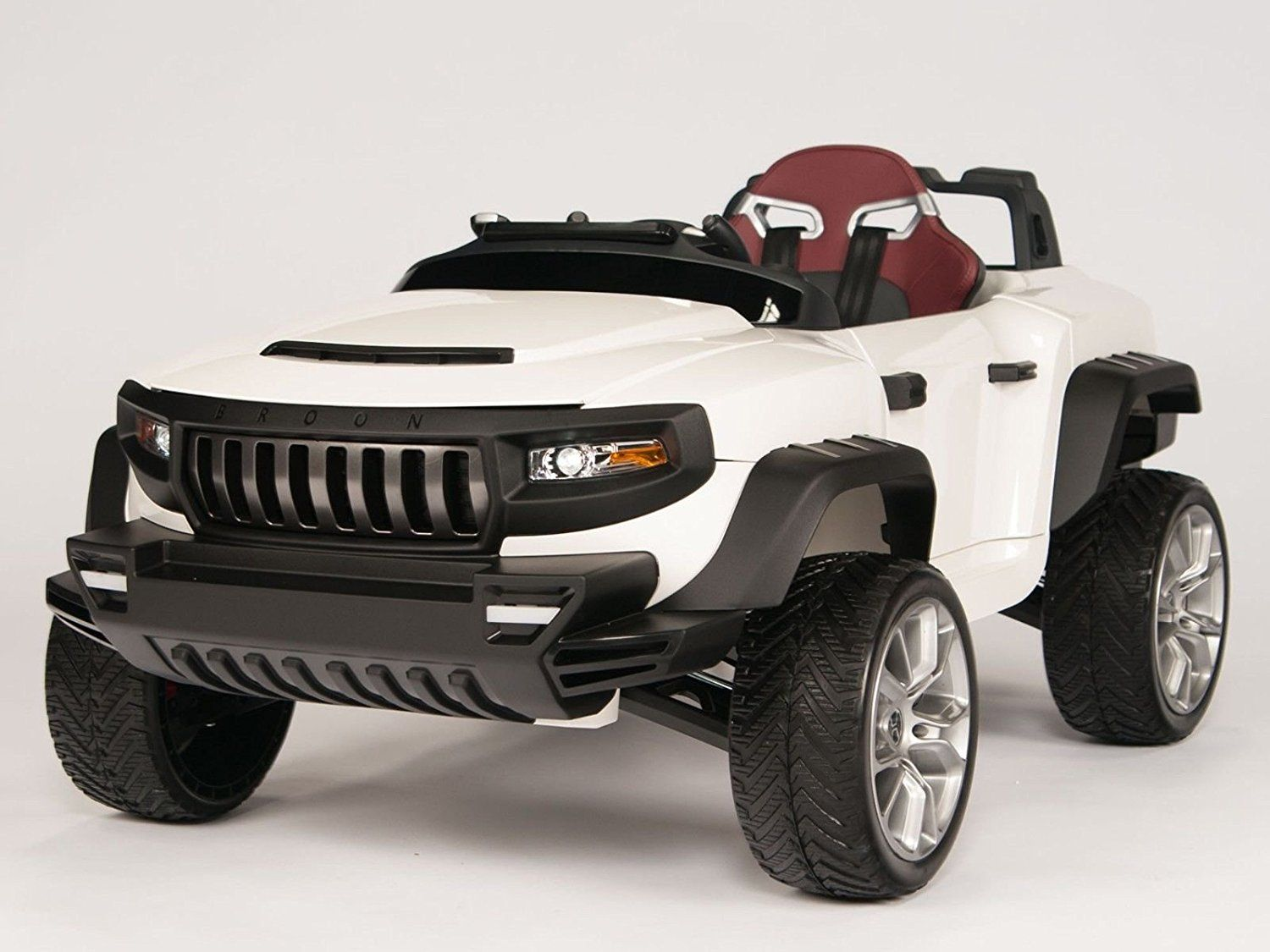 AmazonSmile: Henes Broon T870 Kids Ride On Jeep 24V Power with