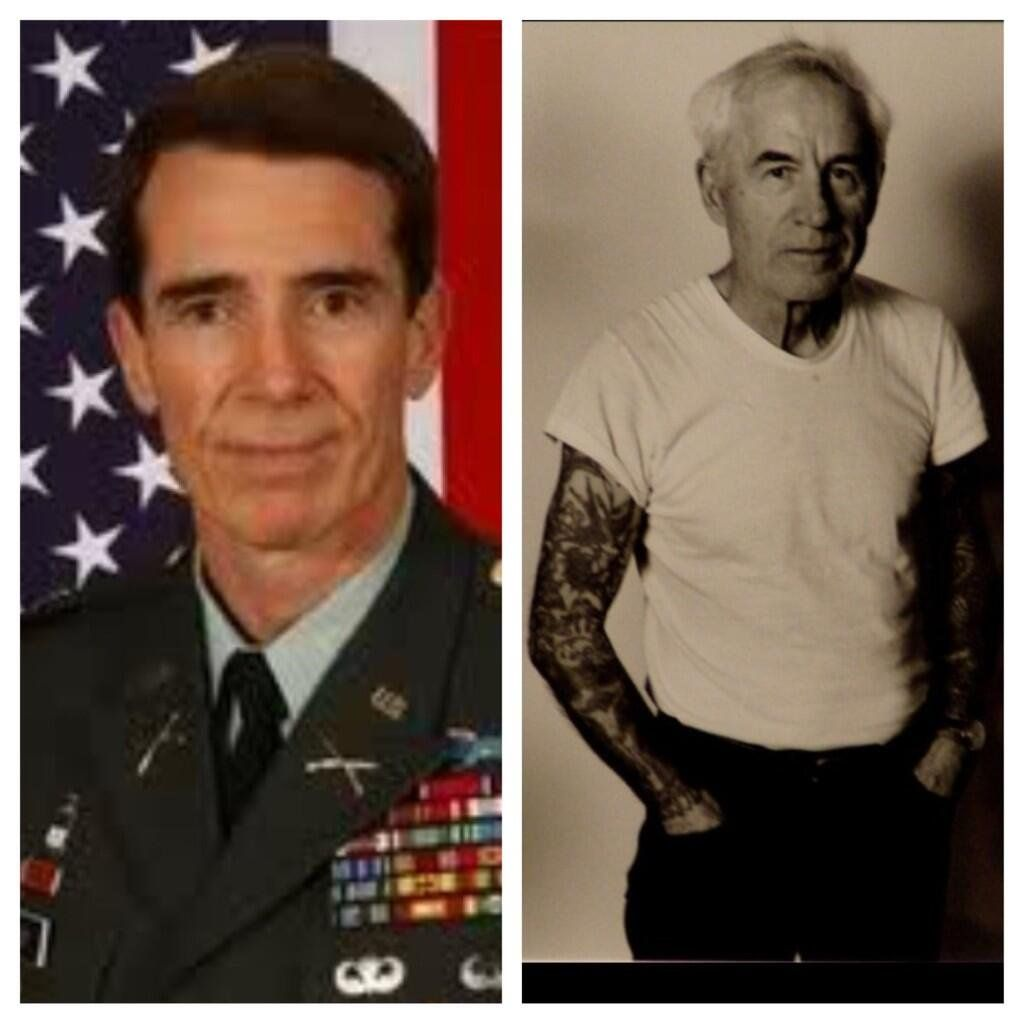 Asverrecchia Did You Know Mister Rogers Was A Special Forces Marine With Sleeve Tattoos Shutthehellup Http T Co Zmkovdt Mr Rogers Special Forces Marine