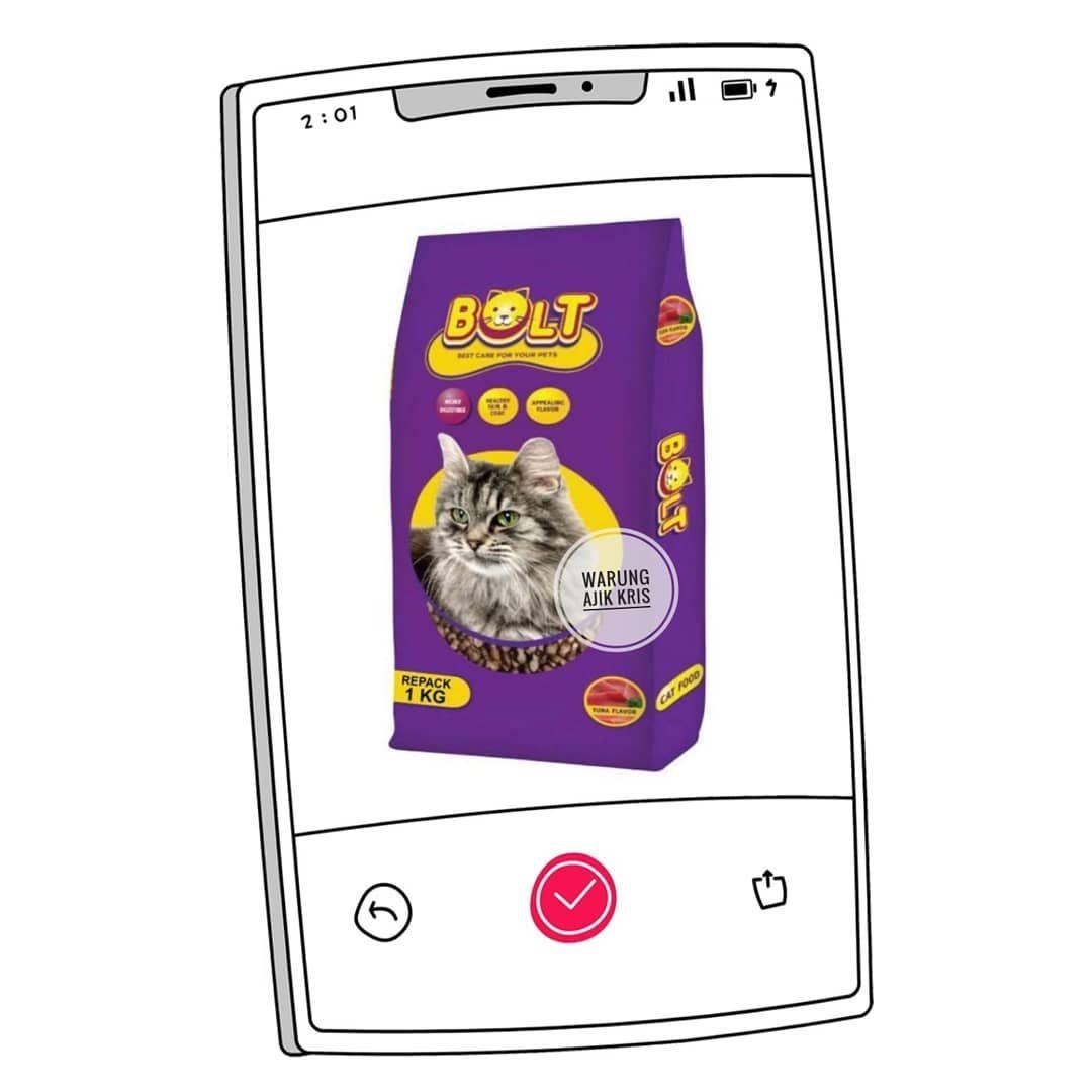 Ready Bolt Dog Food Bolt Cat Food Bolt Dog Food Diformulasikan Untuk Memenuhi Nutrisi Standar Profil Nutrisi Makanan Anj Cat Food Cards Bolt