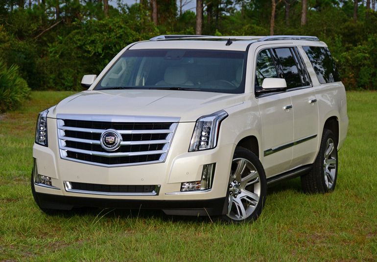 2015 Cadillac Escalade ESV 4WD Premium Review  Test Drive http