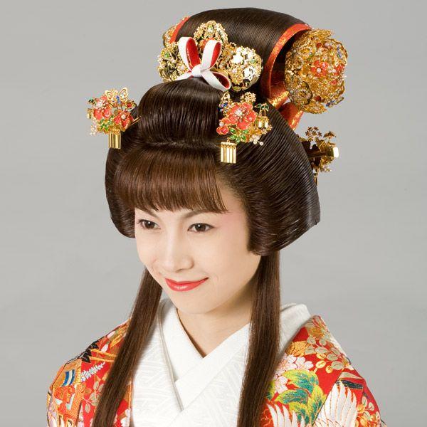 Japan Edo Era Fukiwa Hairstyle Worn By Princesses And Other