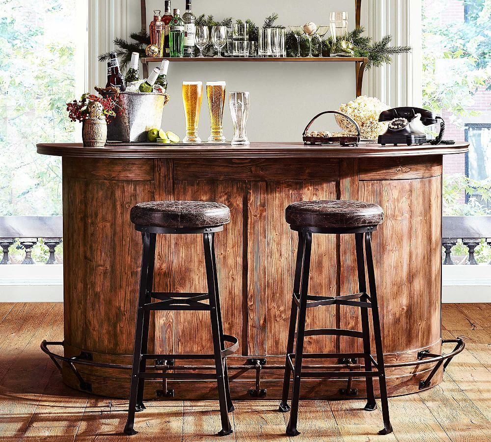 Highland Bar At Pottery Barn Diy Home Bar Bar Furniture Home Bar Rooms
