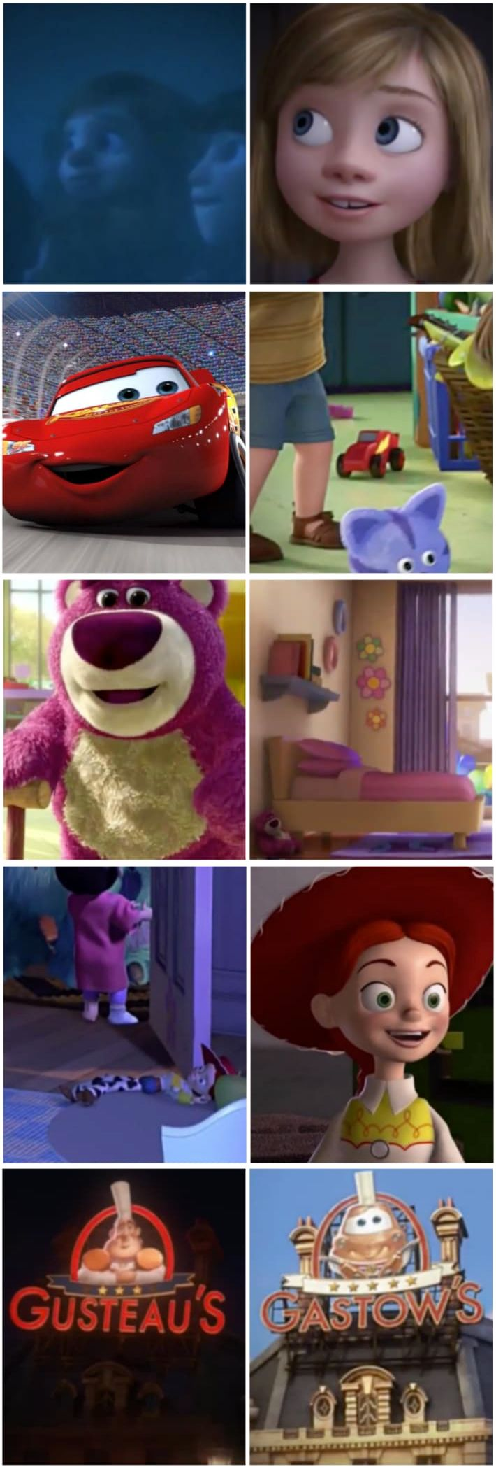 Disney Video Confirms Theory That All Pixar Films Are Connected - Pixar movies connected