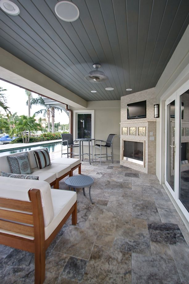French Pattern Silver Travertine Pavers | Outdoor living ... on Travertine Patio Ideas id=16662