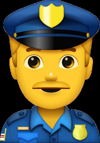 Police Man Emoji Emoji, Police, Old man emoji