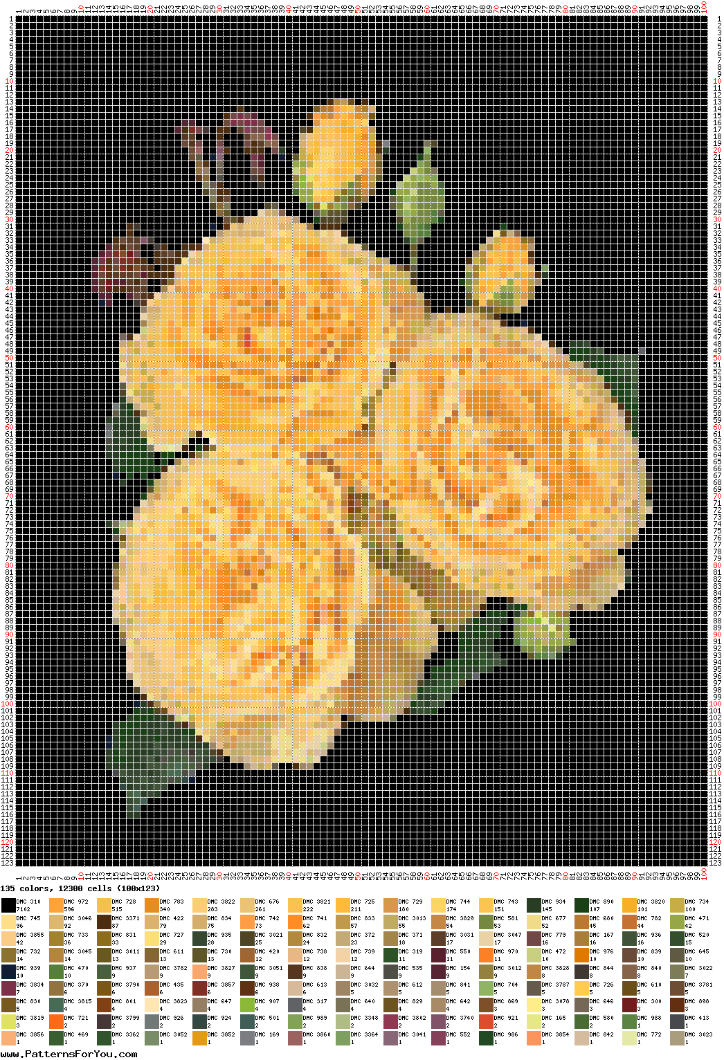 A website that can turn any picture into a cross stitch