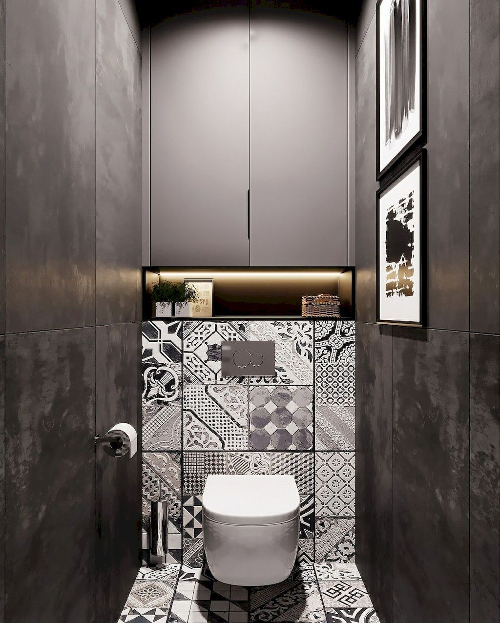 Space Saving Toilet Design For Small Bathroom Home To Z Bathroom Design Small Small Toilet Design Small Space Bathroom