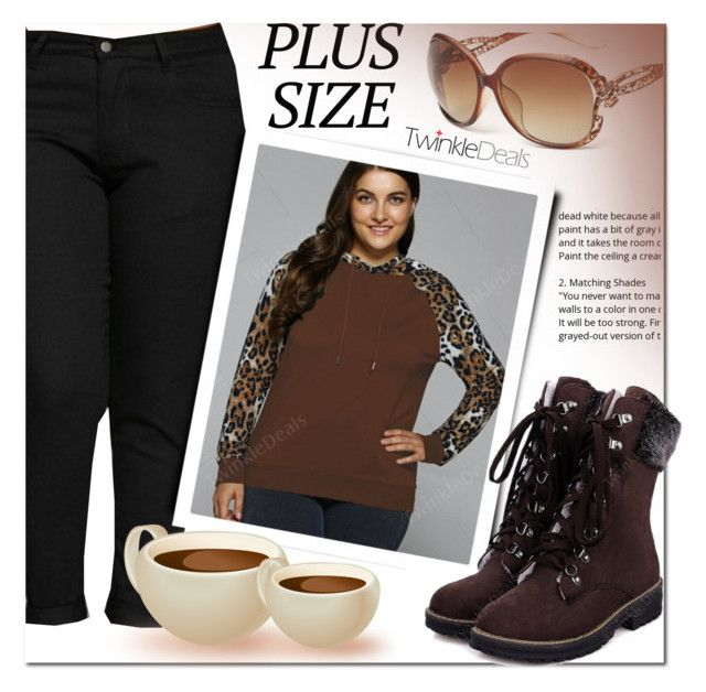"""TwinkleDeals"" by cherry-bh ❤ liked on Polyvore featuring plussize and twinkledeals"