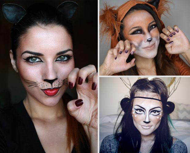 15 Super Cool Halloween Makeup Ideas Beauty Pinterest - cool halloween ideas