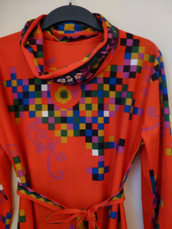 $40 - Square+Flowers Dress