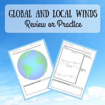 Global And Local Winds Practice Pinterest Trade Wind Students