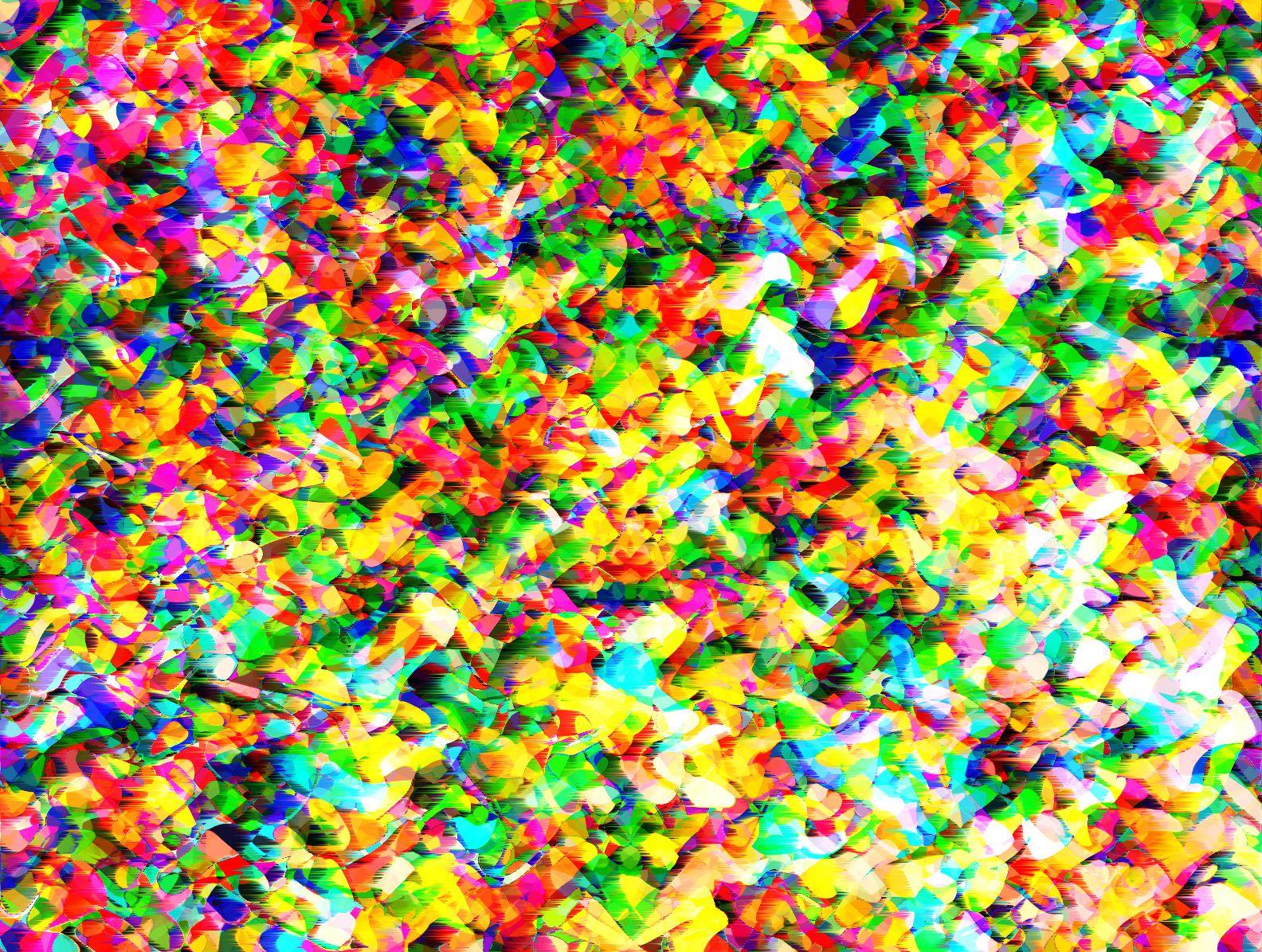 Psicodelia De Colores Y Y Formas Onduladas Fondos Funds