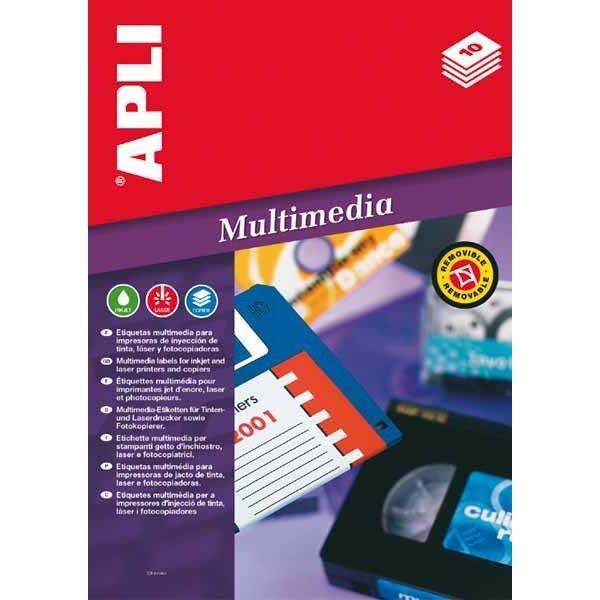 Comprar Etiquetas Multimedia Para diapositiva 44 x10mm Apli 02006 #multimedia #etiquetas  #diapositiva