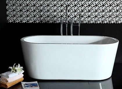 Kylpyamme Monte 1701, 320l, 1580x740mm, valkoinen, BL170-40005, 1