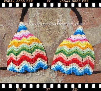 Bikini Top Crochet Swimwear Pinterest Bikini Top Crochet And