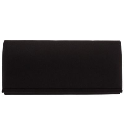 Parfois Black Satin new style clutch- at Debenhams.com