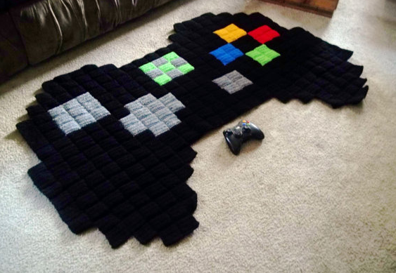 You Can T Lose With These Cool Video Game Rugs Cool Mom Tech