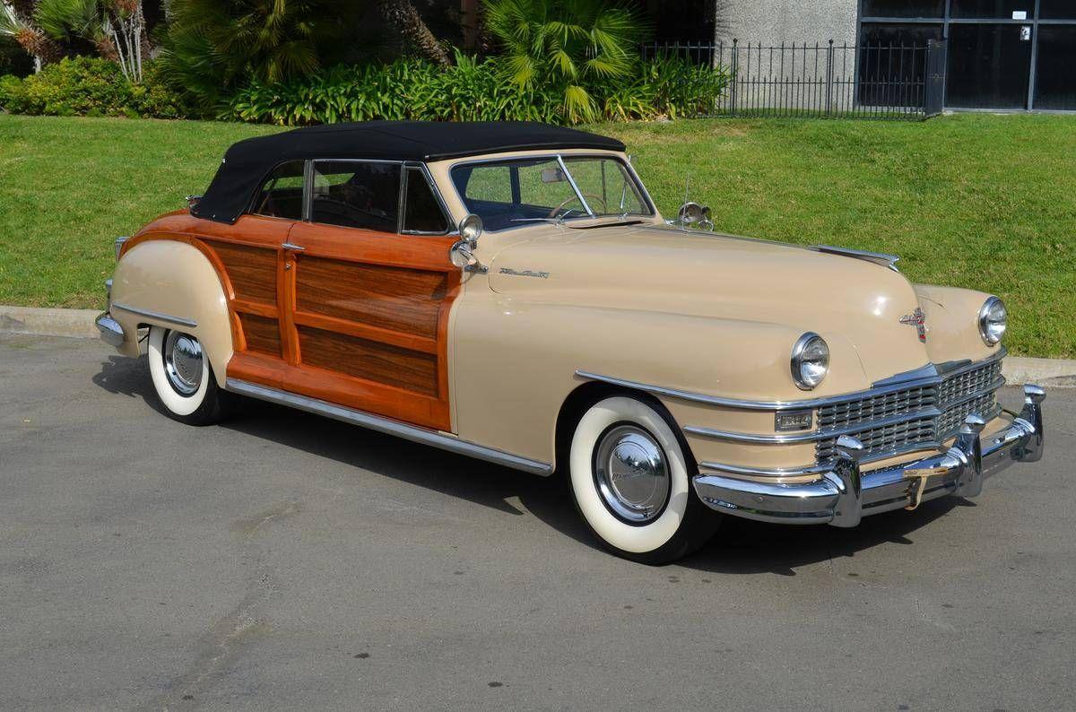 1948 Chrysler Town Country For Sale 2023218 Hemmings Motor