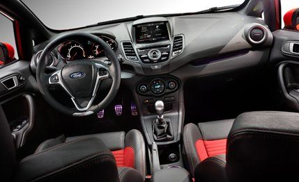 Ford Fiesta St Interior Not A Huge Fan As It S Design Doesn T
