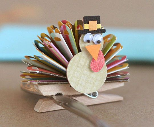 10 Lovely Craft Ideas For A Kids Table At Thanksgiving