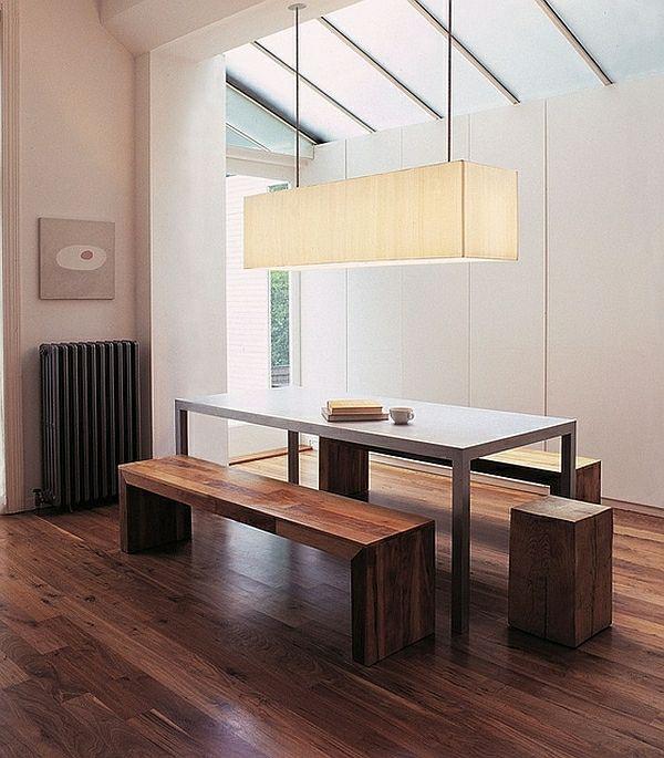 wie sieht das moderne esszimmer aus esszimmer holzboden holzbank modern mi esszimmer. Black Bedroom Furniture Sets. Home Design Ideas