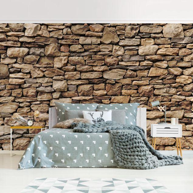 Carta da parati adesiva effetto pietra 3D Muro Di Pietra