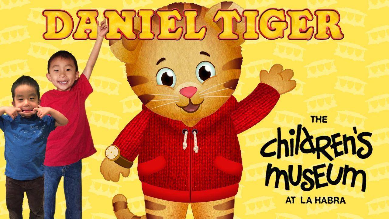 Meeting Daniel Tiger (PBS Kids) at the Children\'s Museum at La Habra ...