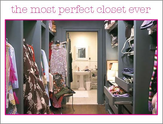 Carrie Bradshawu0027s Closet. The Best Closet Ever!
