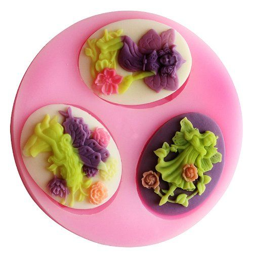 Longzang mini Flower Faerie F0498 Fondant Mold Silicone Sugar mold Craft Molds DIY gumpaste flowers Cake Decorating ** Visit the image link more details.(This is an Amazon affiliate link and I receive a commission for the sales)