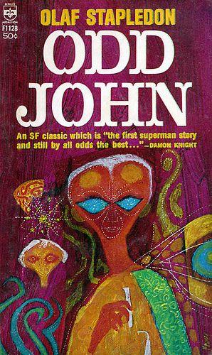 Odd John Cover A Fantasy Books Pulp Fiction Book Science Fiction Novels