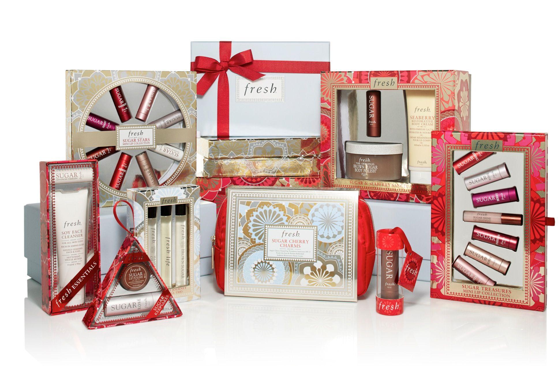 Gift sets galore. Holiday gift sets