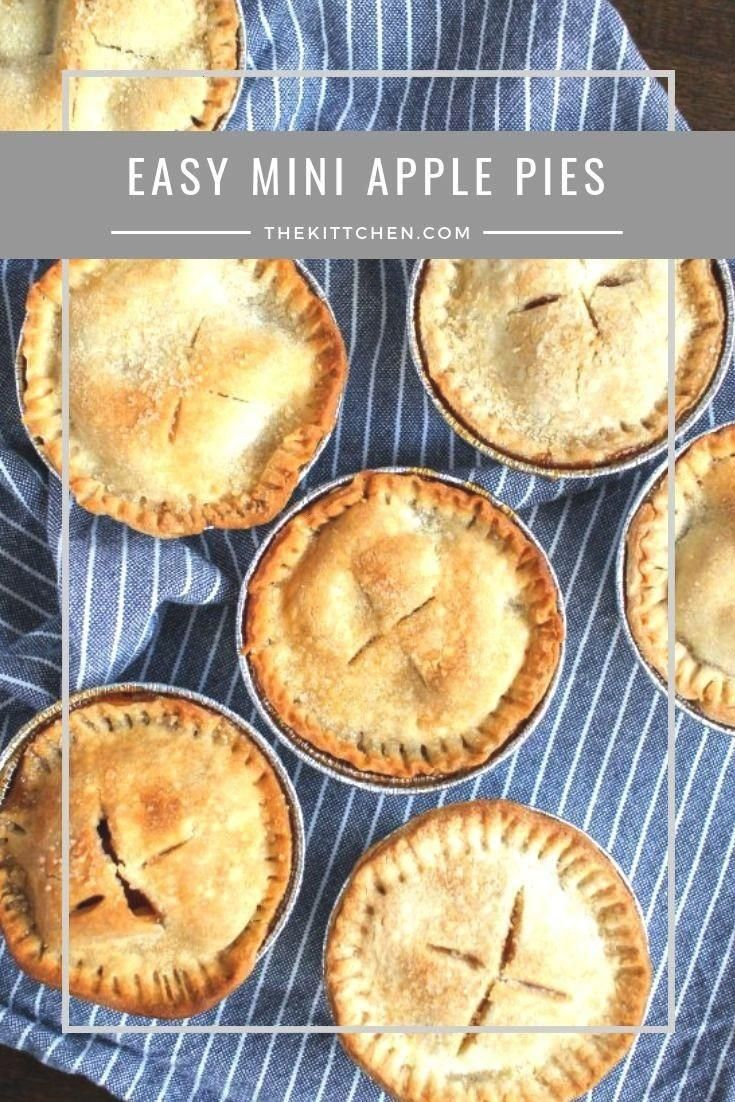 Apple Pies   These mini apple pies are a fun twist on classic apple pie and... - In The Kitchen...