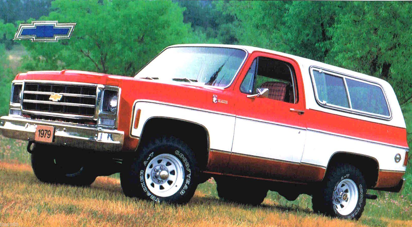 Details About Chevrolet Blazer K5 K 5 Spec Sheet Brochure 1969 1970 Carros Clasicos Clasicos Americana